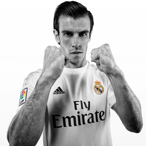 Gareth Bale Real Madrid Jersey 2015 16
