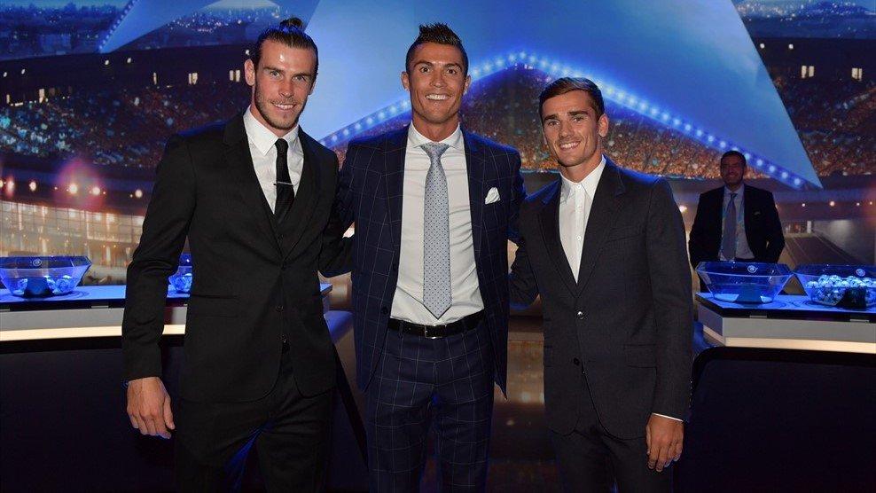Bale Ronaldo Griezmann